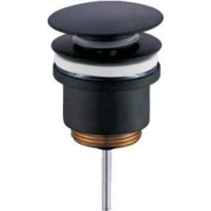 Донный клапан Frap F62-7 черный