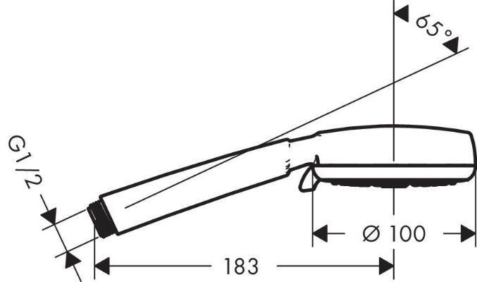Hansgrohe Crometta 100 Vario 26824400