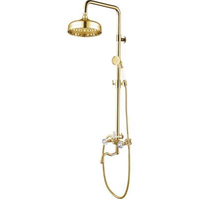 Душевая система Ganzer GZ 09062E (золотистый)