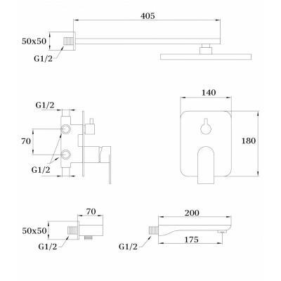 Ganzer GZ 21065 (хром)