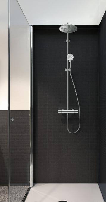 Hansgrohe Crometta S 240 1jet Showerpipe 27267000