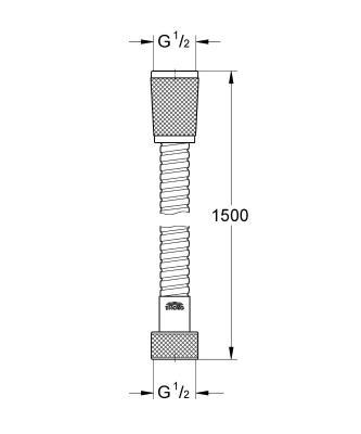 Grohe Relexaflex 150 см 28151000