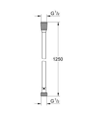 Grohe Silverflex 125 см 28362000