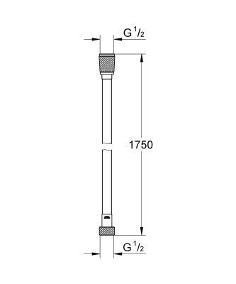 Grohe Silverflex 175 см 28388000