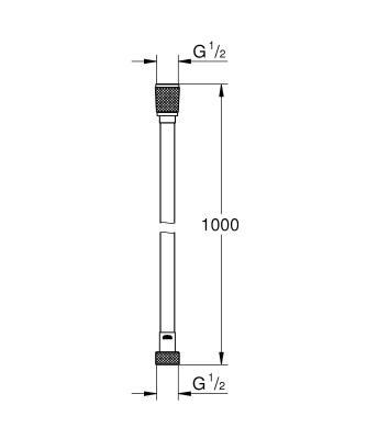 Grohe Silverflex Longlife 100 см 26334000