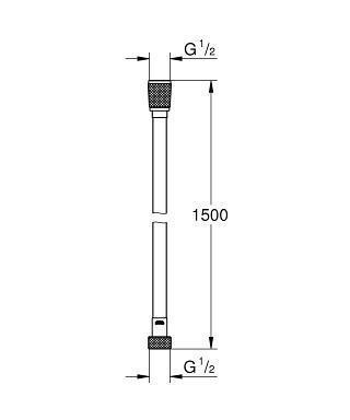 Grohe Silverflex Longlife 150 см 26346000