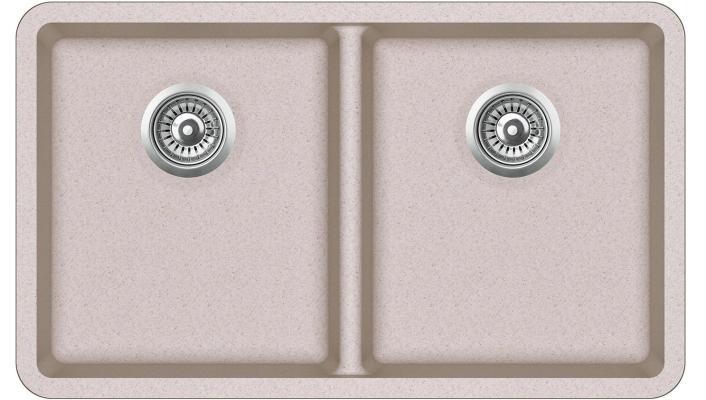 Кухонная мойка AquaSanita Arca SQA 200 110 W beige