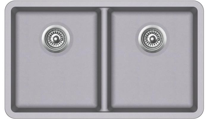 Кухонная мойка AquaSanita Arca SQA 200 202 W alumetallic