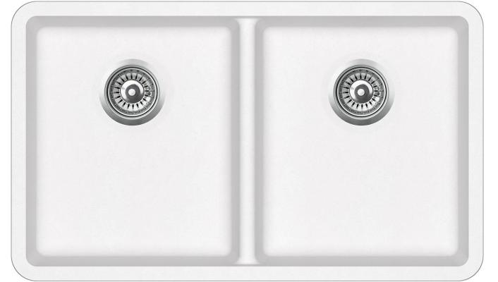 Кухонная мойка AquaSanita Arca SQA 200 710 W alba