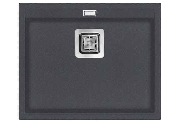 Кухонная мойка AquaSanita Delicia SQD 100 222 AW graphite