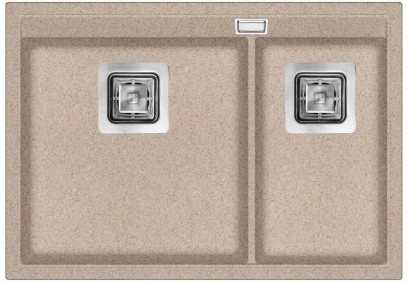 Кухонная мойка AquaSanita Delicia SQD 150 110 AW beige