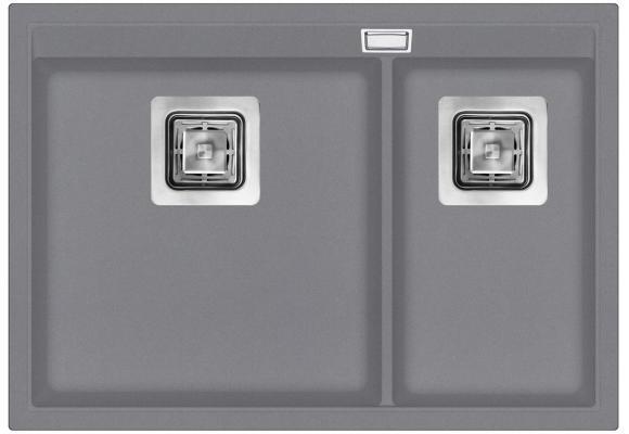Кухонная мойка AquaSanita Delicia SQD 150 202 AW alumetallic