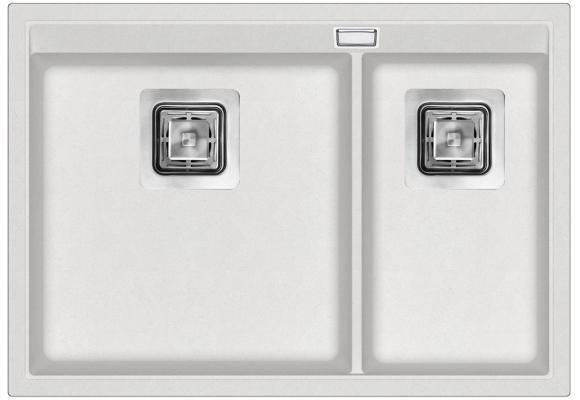 Кухонная мойка AquaSanita Delicia SQD 150 710 AW alba