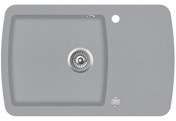 Кухонная мойка AquaSanita Lira SQL 101 221 AW light grey