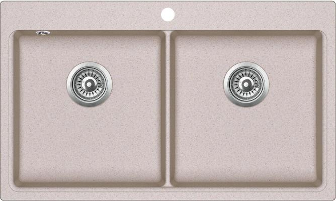 Кухонная мойка AquaSanita Magna SQM 200 110 AW  beige