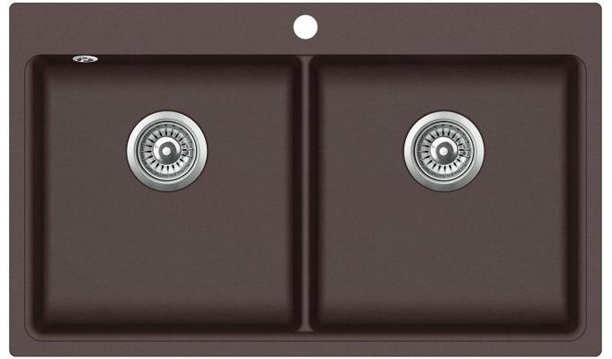 Кухонная мойка AquaSanita Magna SQM 200 120 AW cerrus