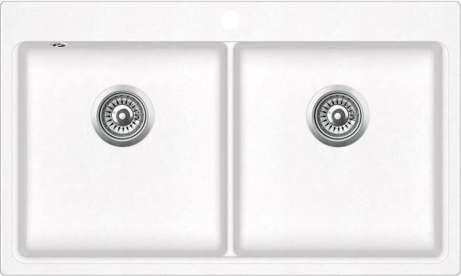 Кухонная мойка AquaSanita Magna SQM 200 710 AW alba