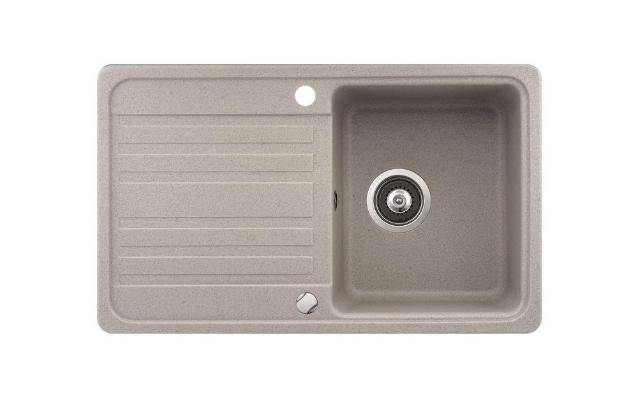 Кухонная мойка AquaSanita Notus SQ 101 110 AW beige
