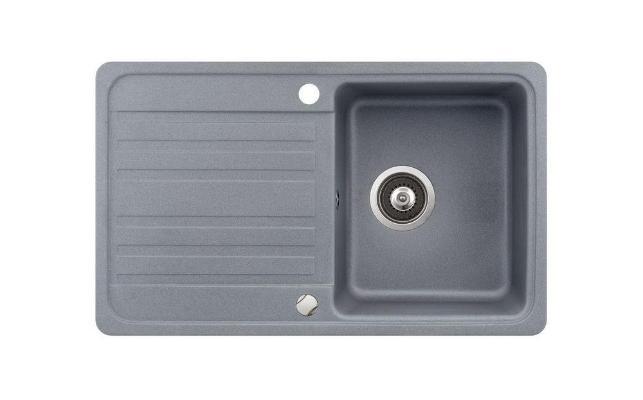 Кухонная мойка AquaSanita Notus SQ 101 202 AW alumetallic