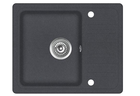 Кухонная мойка AquaSanita Notus SQ 102 222 AW graphite