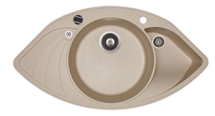 Кухонная мойка AquaSanita Papillon SCP 151 112 AW ora