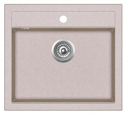 Кухонная мойка AquaSanita Quadro SQQ 100 110 W beige