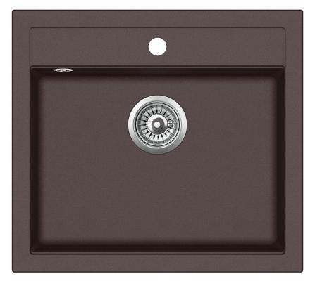 Кухонная мойка AquaSanita Quadro SQQ 100 120 W cerrus