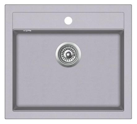 Кухонная мойка AquaSanita Quadro SQQ 100 202 W alumetallic