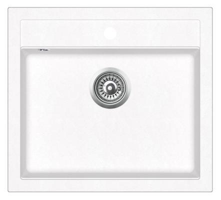 Кухонная мойка AquaSanita Quadro SQQ 100 710 W alba