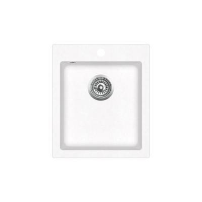 Кухонная мойка AquaSanita Simplex SQS 100 710 W alba