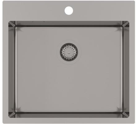 Кухонная мойка AquaSanita Steel AIR 100 N-T graphite