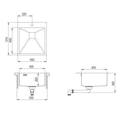 AquaSanita Steel AIR 100 X
