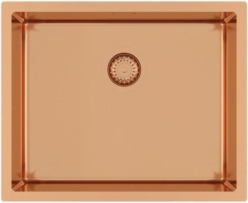 Кухонная мойка AquaSanita Steel DER 100 L-C copper