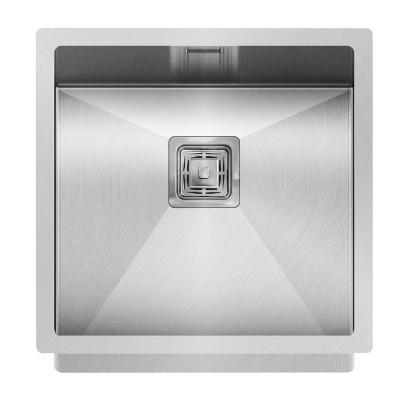 Кухонная мойка AquaSanita Steel DER 100 X