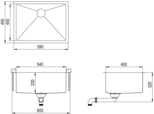 AquaSanita Steel ENN 100 L