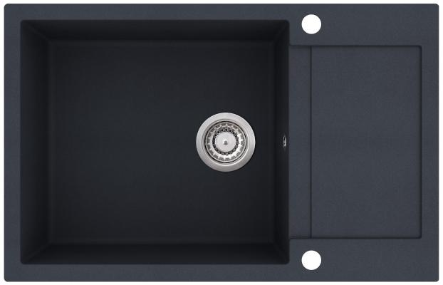 Кухонная мойка AquaSanita Tesa plus SQT 105 222 AW graphite