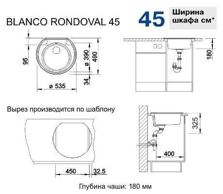 Blanco Rondoval 45 кофе