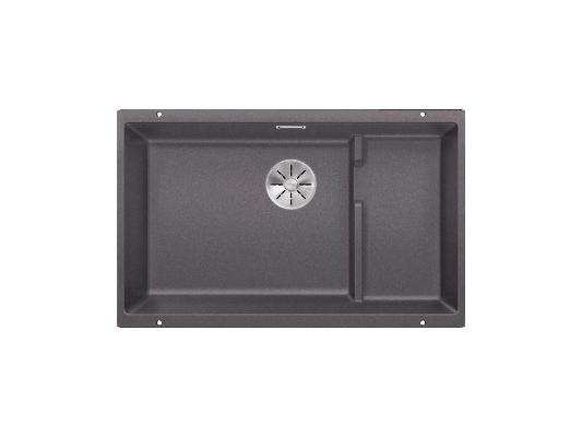 Кухонная мойка Blanco Subline 700-u level темная скала