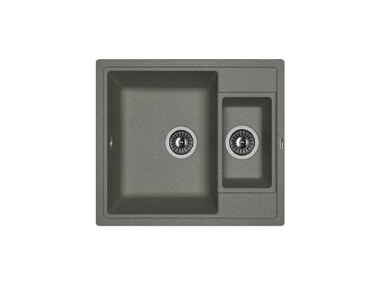 Кухонная мойка Florentina Липси-580К (черный)
