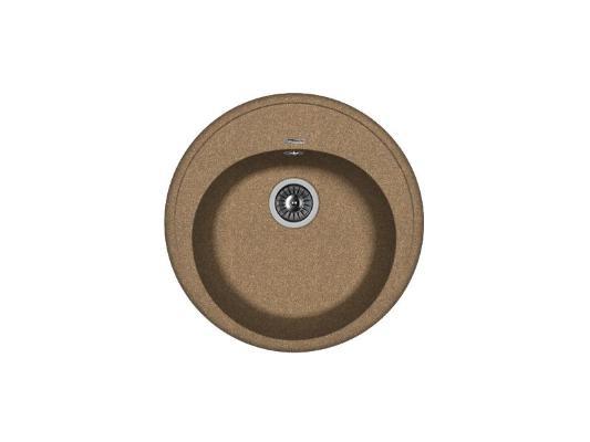 Кухонная мойка Florentina Лотос-510 (коричневый)