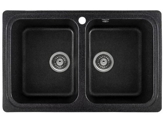 Кухонная мойка Gerhans C02 (черный)