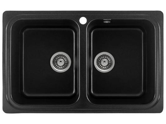 Кухонная мойка Gerhans C02 (оникс)
