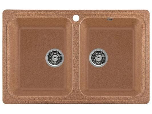 Кухонная мойка Gerhans C02 (терракотовый)