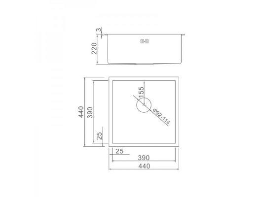 Gerhans K34444B (графит)