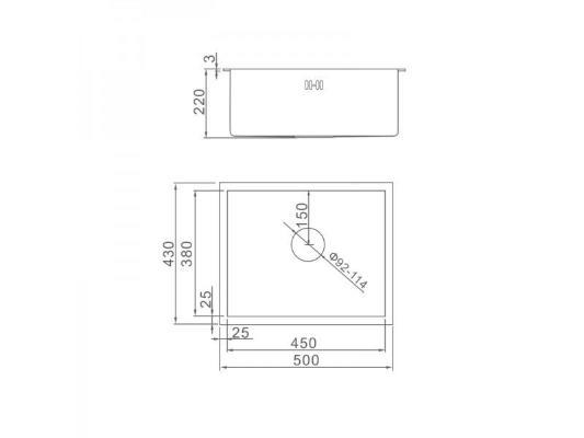 Gerhans K35043B (графит)