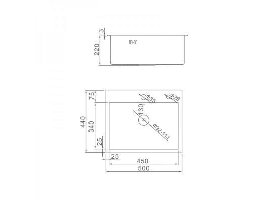 Gerhans K35044B (графит)
