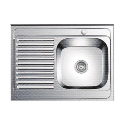 Кухонная мойка Ledeme L68060-R декор