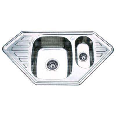 Кухонная мойка Ledeme L69550B декор