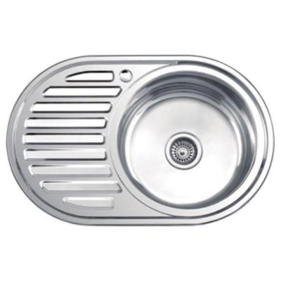Кухонная мойка Ledeme L77750-R матовая