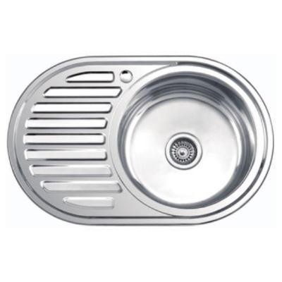 Кухонная мойка Ledeme L87750-R глянцевая
